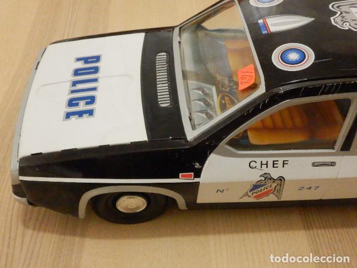 Juguetes antiguos Payá: Coche Payá de hojalata - Renault R-12-S Policia - Police - Nº 247 Ref. 8048 - Fricción - Con caja - Foto 7 - 194143141