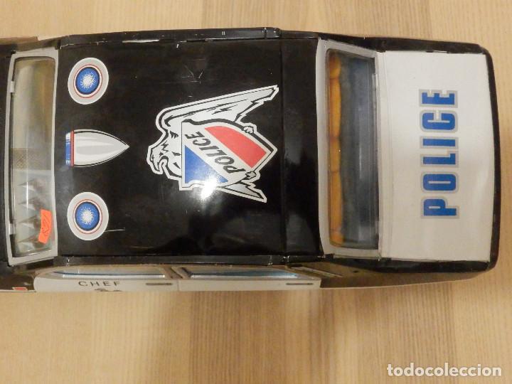 Juguetes antiguos Payá: Coche Payá de hojalata - Renault R-12-S Policia - Police - Nº 247 Ref. 8048 - Fricción - Con caja - Foto 8 - 194143141