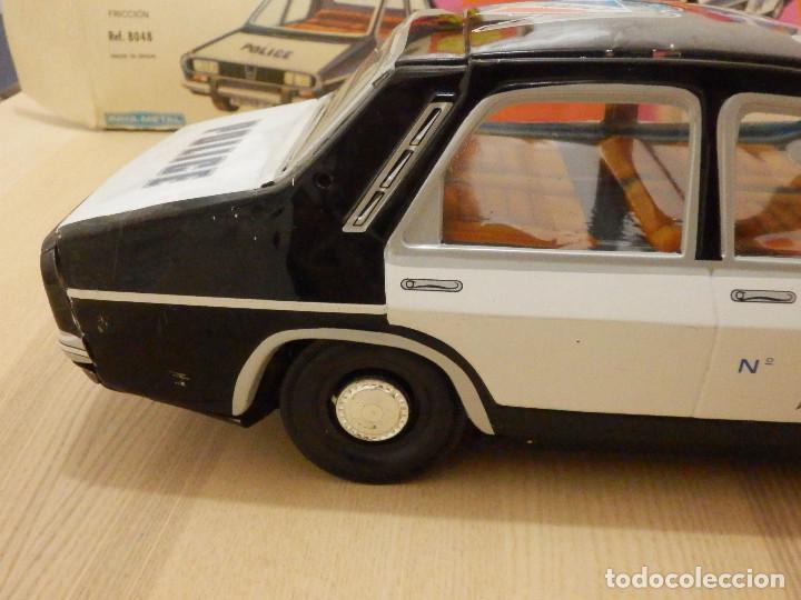 Juguetes antiguos Payá: Coche Payá de hojalata - Renault R-12-S Policia - Police - Nº 247 Ref. 8048 - Fricción - Con caja - Foto 11 - 194143141