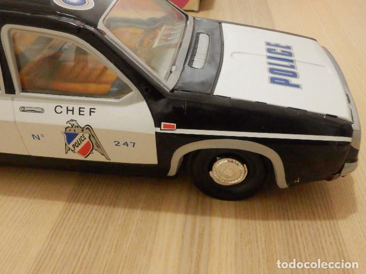 Juguetes antiguos Payá: Coche Payá de hojalata - Renault R-12-S Policia - Police - Nº 247 Ref. 8048 - Fricción - Con caja - Foto 12 - 194143141