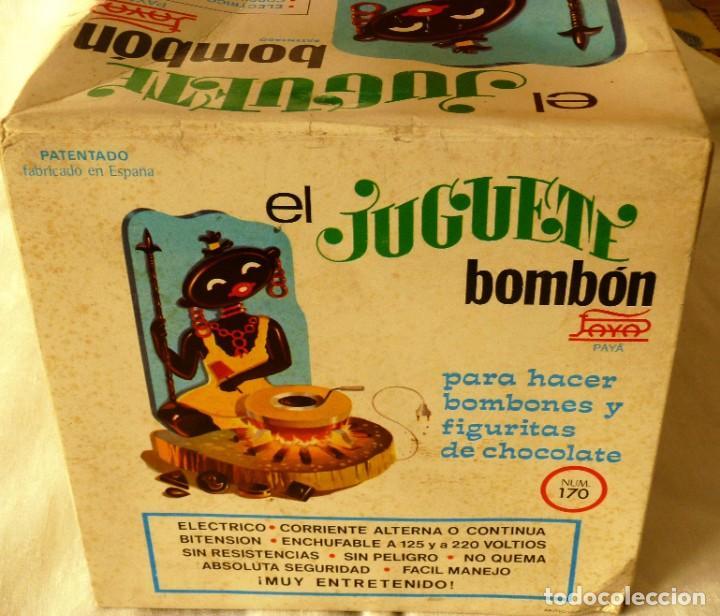 Juguetes antiguos Payá: EL JUGUETE BOMBON DE PAYÁ MODELO Nº 170 AÑOS 60 - Foto 4 - 195379120