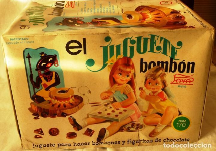 Juguetes antiguos Payá: EL JUGUETE BOMBON DE PAYÁ MODELO Nº 170 AÑOS 60 - Foto 5 - 195379120