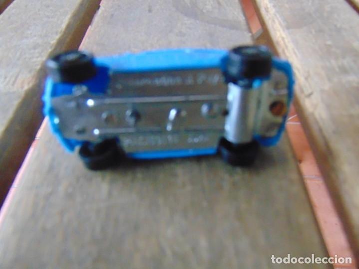 Juguetes antiguos Payá: COCHE SEAT 600 PULGA A CUERDA O RESORTE DE PAYA INTERNACIONAL COLOR AZUL - Foto 6 - 195706428
