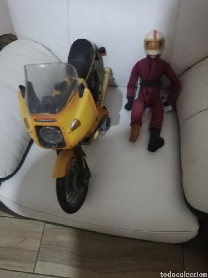 MOTO Y MOTORISTA DE PAYA (Juguetes - Marcas Clásicas - Payá)