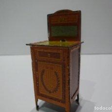 Juguetes antiguos Payá: MESILLA DE NOCHE DE HOJALATA LITOGRAFIADA, PAYÁ O RICO, AÑOS 30. Lote 196226941
