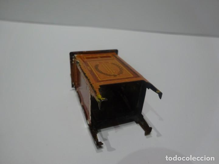 Juguetes antiguos Payá: MESILLA DE NOCHE DE HOJALATA LITOGRAFIADA, PAYÁ O RICO, AÑOS 30 - Foto 5 - 196226941