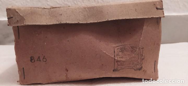 Juguetes antiguos Payá: Payaso a caballo de Payá ref. 846 con caja original y funcionando. Ver descripción. Original 1937 - Foto 18 - 198051788