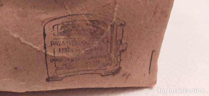 Juguetes antiguos Payá: Payaso a caballo de Payá ref. 846 con caja original y funcionando. Ver descripción. Original 1937 - Foto 19 - 198051788