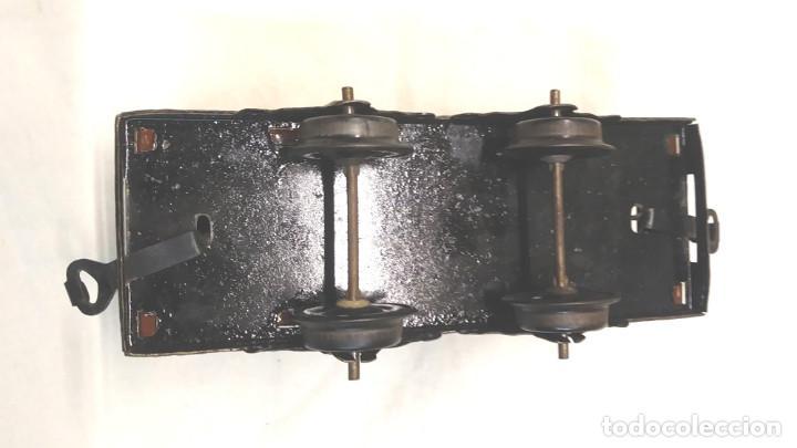 Juguetes antiguos Payá: Vagon Correo Paya litografiado Escala H0 años 30 - Foto 5 - 198674113