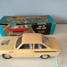 Brinquedos antigos Payá: RICO, ANTIGUO SEAT 124 COUPE RALLY CON CAJA ORIGINAL. Lote 202480222