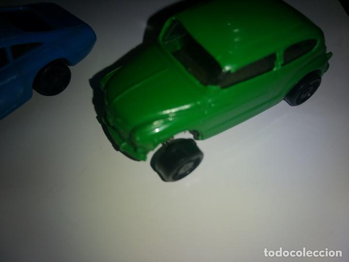 Juguetes antiguos Payá: 2 coches a cuerda marca PAYA SEAT 600 Y FERRARI BERLINETA INCLUIDO LLAVE CUERDA AÑOS 60-70 - Foto 6 - 203499782