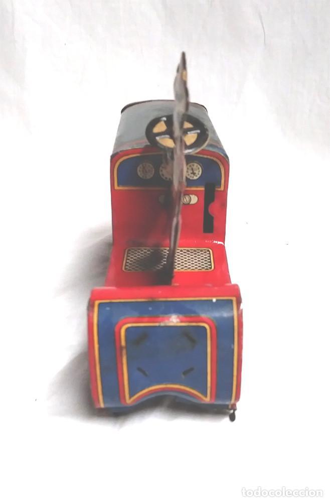 Juguetes antiguos Payá: Tractor I 979 de Payá años 20, carroceria, nuevo resto tienda juguetes - Foto 2 - 204850417