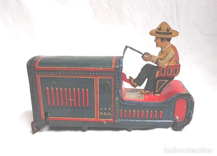 Juguetes antiguos Payá: Tractor I 979 de Payá años 20, carroceria, nuevo resto tienda juguetes - Foto 3 - 204850417