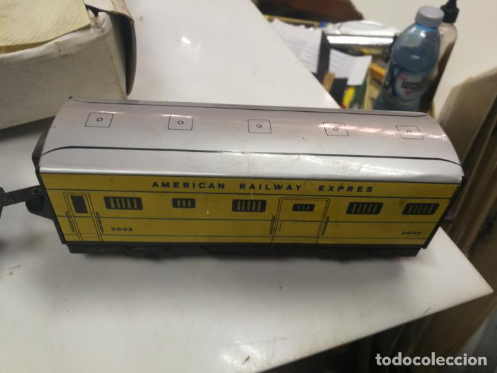 Juguetes antiguos Payá: ANTIGUO TREN ELECTRICO PAYA REF. 2564 PLASTICO Y HOJALATA, CAJA CON DEFECTOS - Foto 11 - 204972407