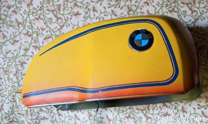 MOTO BMW RS PAYA - PIEZA: CUBIERTA DEL MOTOR CON SUS CABLES. NUEVA. VELL I BELL (Juguetes - Marcas Clásicas - Payá)