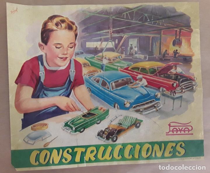 Juguetes antiguos Payá: Automóviles construcciones paya antiguo - Foto 2 - 207301580