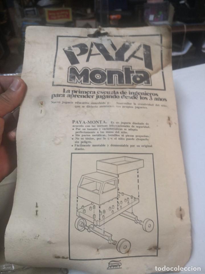 Juguetes antiguos Payá: BLISTER PAYA MONTA * LA PRIMERA ESCUELA ESCUELA DE INGENIEROS - Foto 3 - 207438453