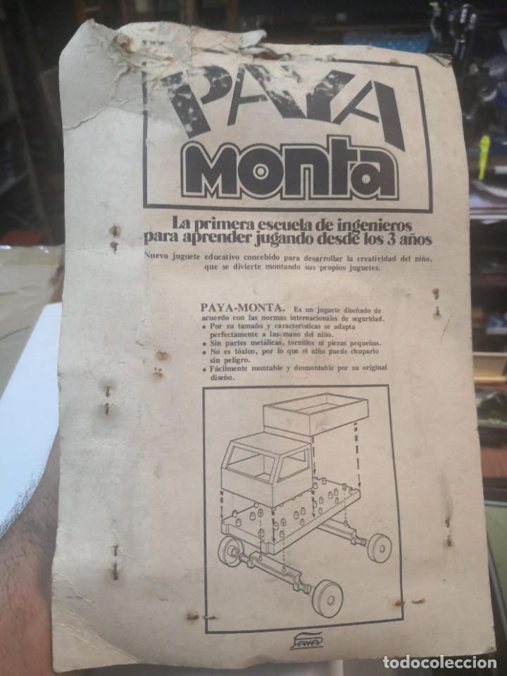 Juguetes antiguos Payá: BLISTER PAYA MONTA * LA PRIMERA ESCUELA ESCUELA DE INGENIEROS - Foto 5 - 207438756