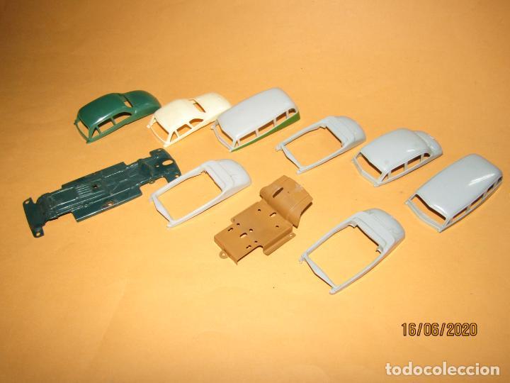 Juguetes antiguos Payá: Antiguo Lote de 11 Piezas de la Caja de Construcciones de Automóviles de PAYÁ - Foto 2 - 208470877