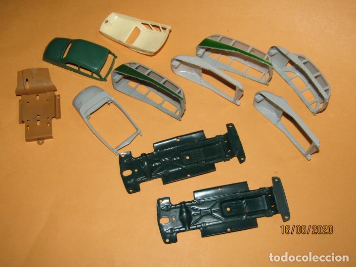 Juguetes antiguos Payá: Antiguo Lote de 11 Piezas de la Caja de Construcciones de Automóviles de PAYÁ - Foto 3 - 208470877