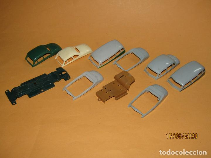 Juguetes antiguos Payá: Antiguo Lote de 11 Piezas de la Caja de Construcciones de Automóviles de PAYÁ - Foto 4 - 208470877