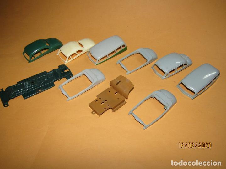 Juguetes antiguos Payá: Antiguo Lote de 11 Piezas de la Caja de Construcciones de Automóviles de PAYÁ - Foto 5 - 208470877