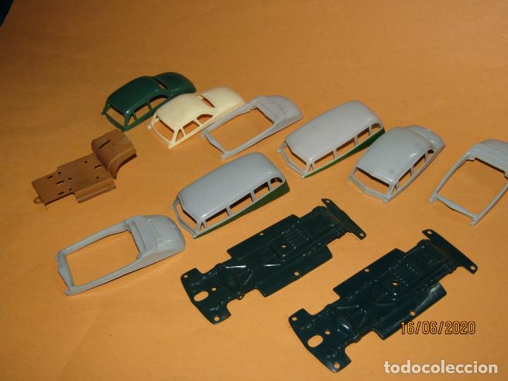 Juguetes antiguos Payá: Antiguo Lote de 11 Piezas de la Caja de Construcciones de Automóviles de PAYÁ - Foto 7 - 208470877