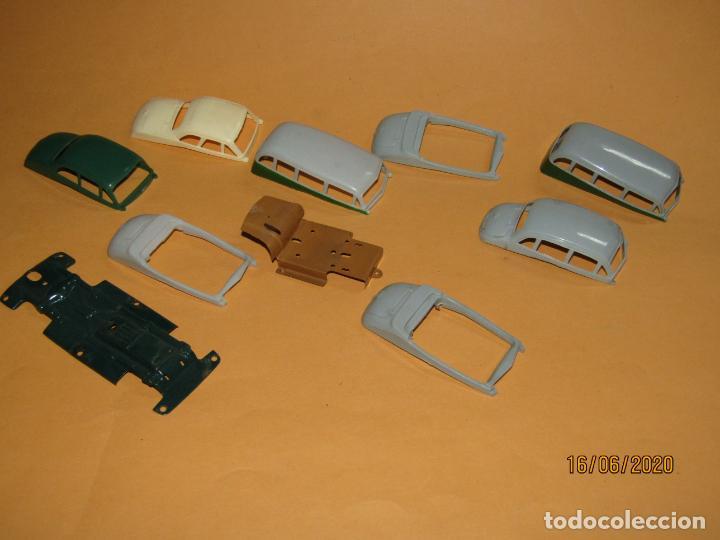 Juguetes antiguos Payá: Antiguo Lote de 11 Piezas de la Caja de Construcciones de Automóviles de PAYÁ - Foto 8 - 208470877