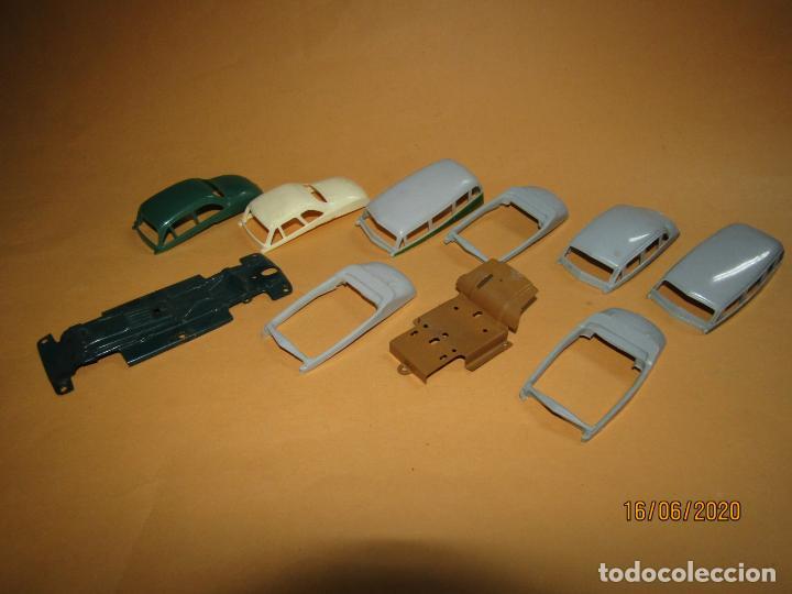 Juguetes antiguos Payá: Antiguo Lote de 11 Piezas de la Caja de Construcciones de Automóviles de PAYÁ - Foto 9 - 208470877