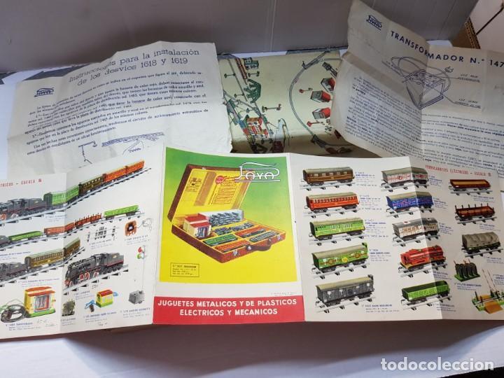 Juguetes antiguos Payá: Paya Desvio ref.1460 en caja original catalogo y guias - Foto 4 - 208592827