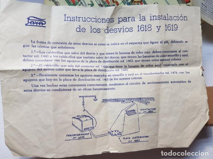 Juguetes antiguos Payá: Paya Desvio ref.1460 en caja original catalogo y guias - Foto 5 - 208592827