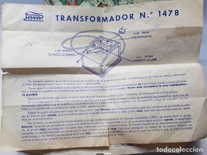 Juguetes antiguos Payá: Paya Desvio ref.1460 en caja original catalogo y guias - Foto 6 - 208592827