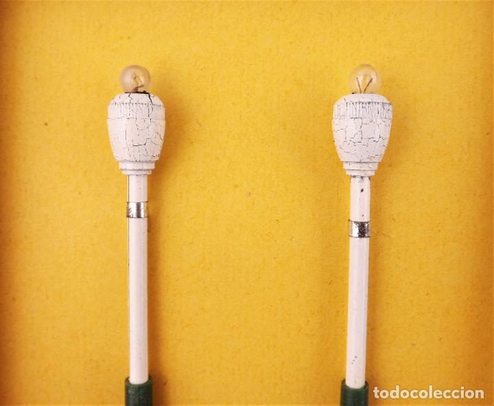 Juguetes antiguos Payá: Payá Escala 0. Farolas años 50 Ref. 1456 - Foto 4 - 208691775