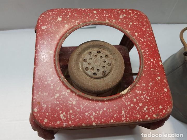 Juguetes antiguos Payá: Paya hojalata lote Hornillo ,Cubo y Pala - Foto 2 - 208774231