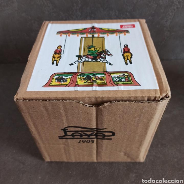 Juguetes antiguos Payá: TIOVIVO PAYÁ RÉPLICA EN SU CAJA * FUNCIONA - Foto 5 - 209412858