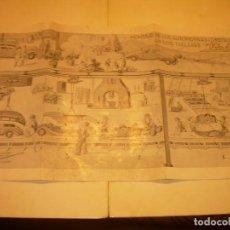 Juguetes antiguos Payá: PAYA...CATALOGO MUY GRANDE DE MONTAJE DE COCHES METALICOS.. Lote 210188582