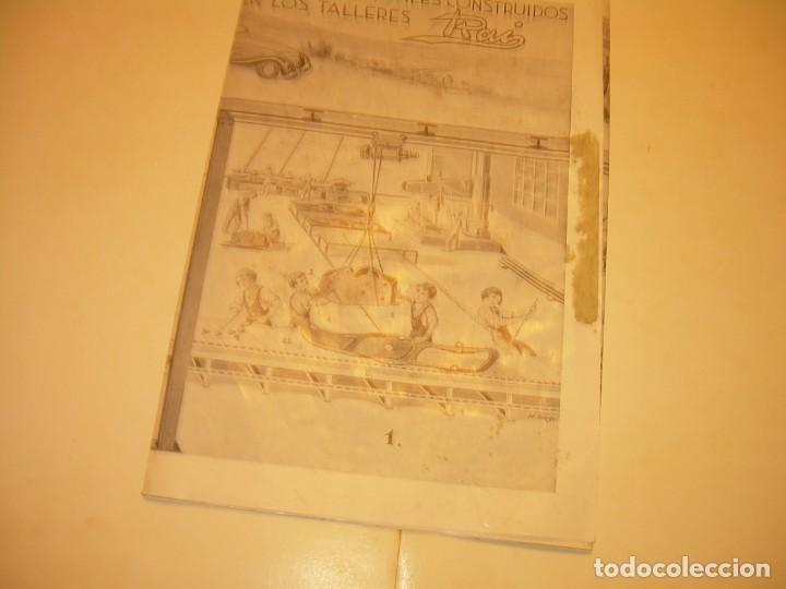 Juguetes antiguos Payá: PAYA...CATALOGO MUY GRANDE DE MONTAJE DE COCHES METALICOS. - Foto 7 - 210188582