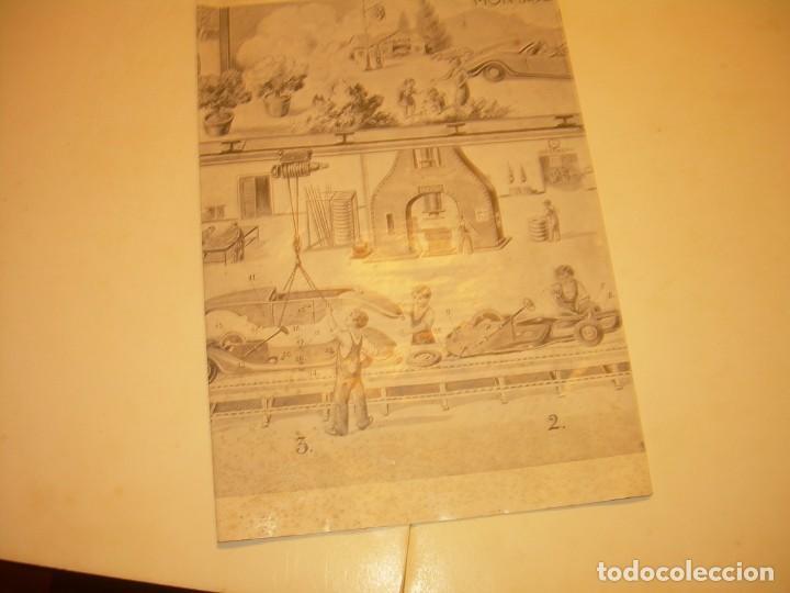 Juguetes antiguos Payá: PAYA...CATALOGO MUY GRANDE DE MONTAJE DE COCHES METALICOS. - Foto 8 - 210188582