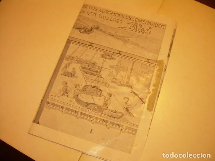 Juguetes antiguos Payá: PAYA...CATALOGO MUY GRANDE DE MONTAJE DE COCHES METALICOS. - Foto 9 - 210188582