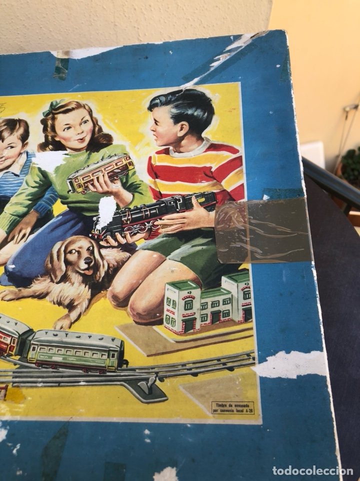 Juguetes antiguos Payá: Antiguo tren eléctrico paya - Foto 3 - 210302415