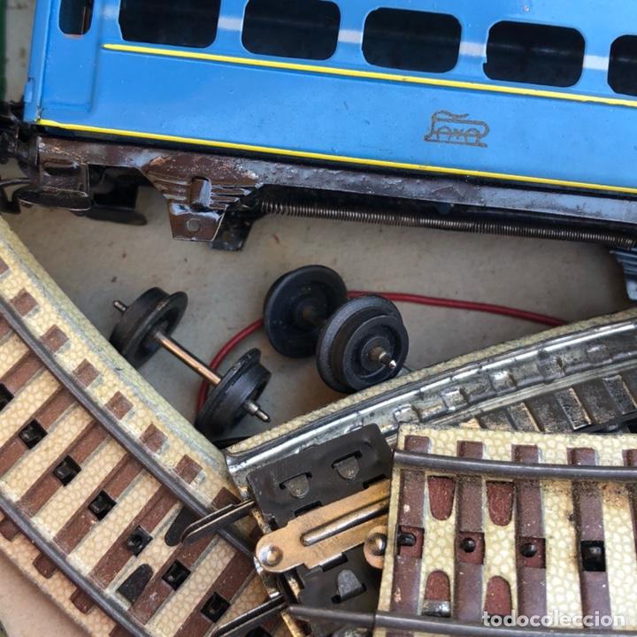 Juguetes antiguos Payá: Antiguo tren eléctrico paya - Foto 7 - 210302415