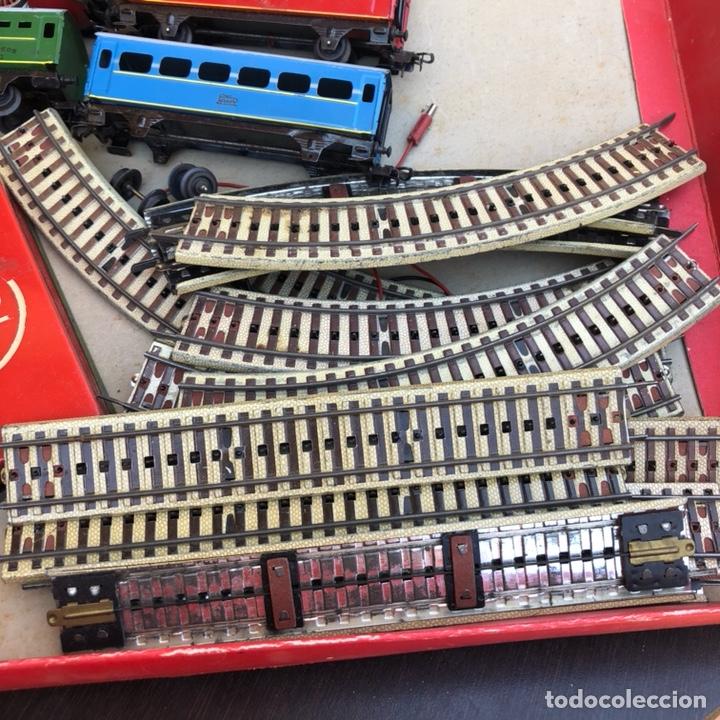 Juguetes antiguos Payá: Antiguo tren eléctrico paya - Foto 9 - 210302415