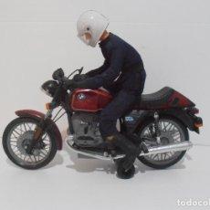 Juguetes antiguos Payá: MOTO BMW R100 PAYA CON MOTORISTA, REF 3201, AÑOS 80. Lote 210779955