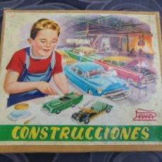 Giocattoli antichi Payá: CONSTRUCCIONES PAYÁ. AÑOS 50. COMPLETO EN CAJA, A MEDIO MONTAR.. Lote 213175808