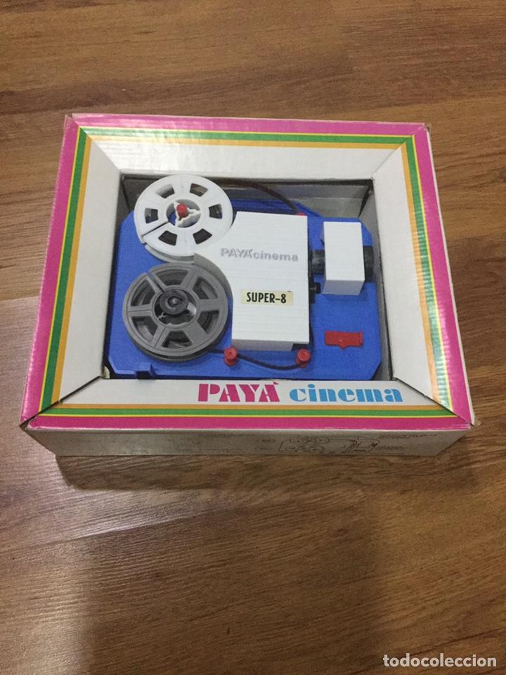 Juguetes antiguos Payá: PAYA CINEMA.SUPER 8. FUNCIONA. CON 3 peliculas - Foto 2 - 213500852