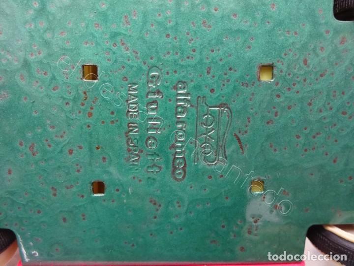 Juguetes antiguos Payá: ALFA ROMEO Giulietta de Payá. Color rosa. Funciona a fricción. Mide 19 ctms - Foto 6 - 213777665