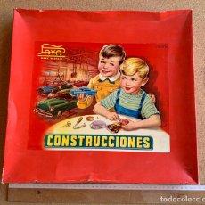 Juguetes antiguos Payá: CAJA CONSTRUCCIONES PAYA . AUTOMOVILES . CATALOGO . HOJA RECLAMACIONES . AÑOS CINCUENTA .. Lote 217534413