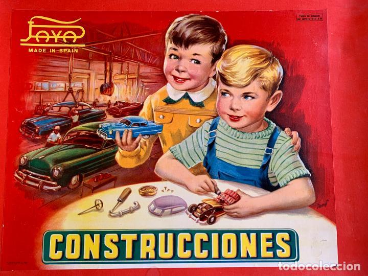Juguetes antiguos Payá: CAJA CONSTRUCCIONES PAYA . AUTOMOVILES . CATALOGO . HOJA RECLAMACIONES . AÑOS CINCUENTA . - Foto 2 - 217534413