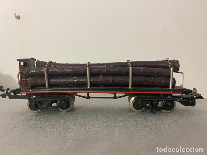 Juguetes antiguos Payá: PAYA O TELERO BOGGIES TRONCOS - Foto 3 - 217703627