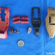 Juguetes antiguos Payá: LOTE DE PIEZAS CHOCHES-AUTOMOBILES CONSTRUCCIONES PAYA.. Lote 217979420